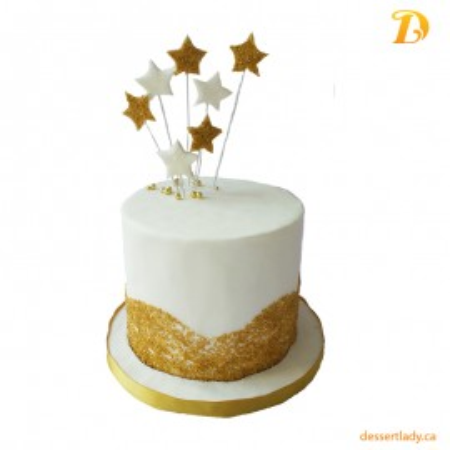 Festive Holiday Wow Cake – Stars