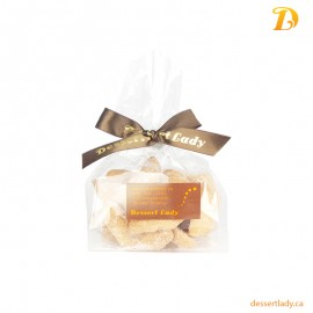 Vanilla Crescent Almond Shortbread (12 Pieces)