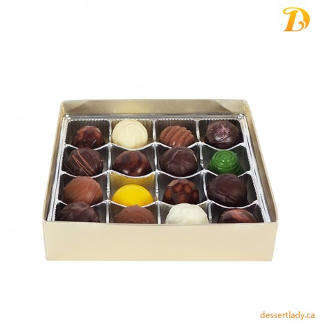 Premium - Chocolate Truffles (16 pcs)