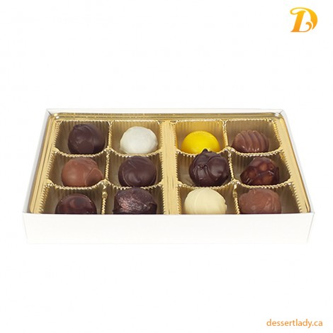 Sweet Sensations - Chocolate Truffles (12 pcs)