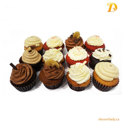 12 Cupcakes Pack (Regular Size)