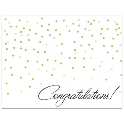 Congratulations - Special Occasion Card