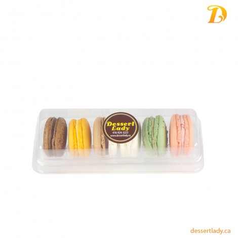 6 French Macarons  Pack