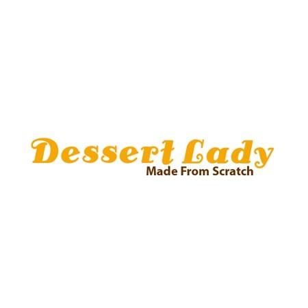 "5"" Black Sesame Mousse Cake with Smoked Vanilla Custard Filling"