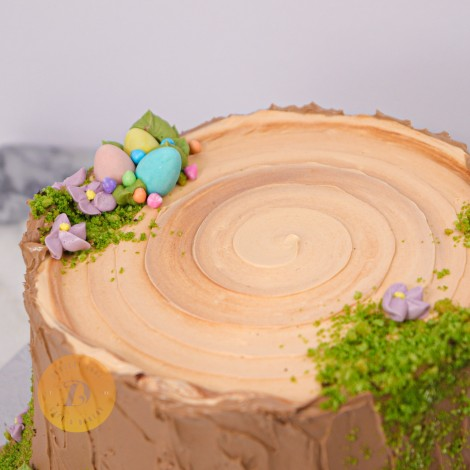 Easter Bunny in Trunk Cake