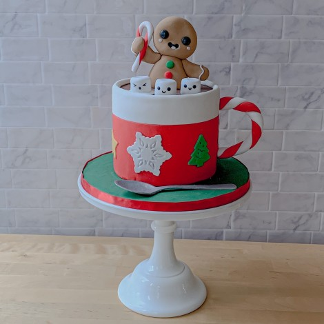 Holiday Cup Cake