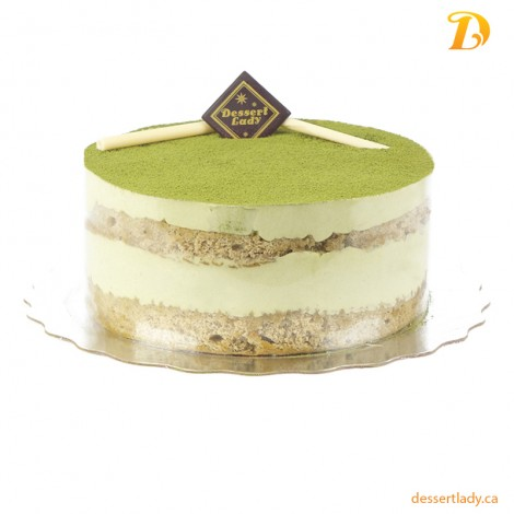 "8"" Matcha Green Tea Tiramisu"