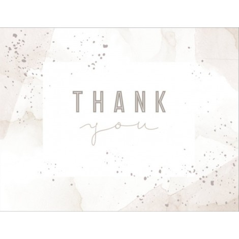 Thank You C - Special Occasion Card