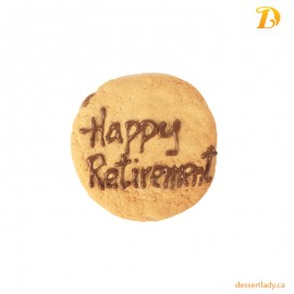 Happy Retirement Cookies