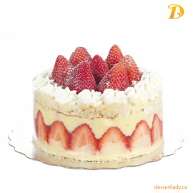 Strawberry Napoleon Cake