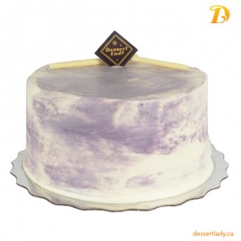 "6"" Ube (Purple Yam) Coconut Cake with Ube Buttercream Icing"