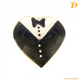 Wedding Sugar Cookies Groom