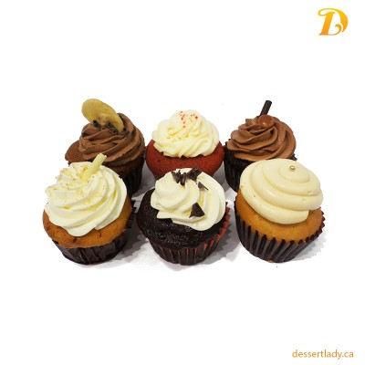 6 Cupcakes Pack (Regular Size)