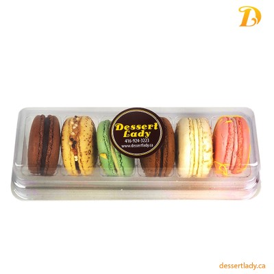 French Macarons Assorted (Box of 6 or 12)