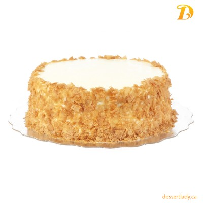 """8"""" Carrot Cake with Walnuts & Cream Cheese Icing"""