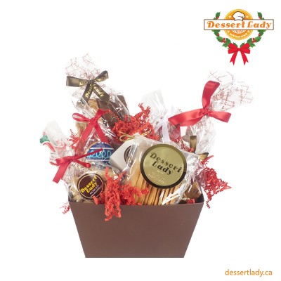 Holiday One of a Kind Gift Basket