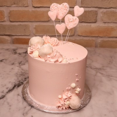 "6"" Shooting Hearts Specialty Cake"
