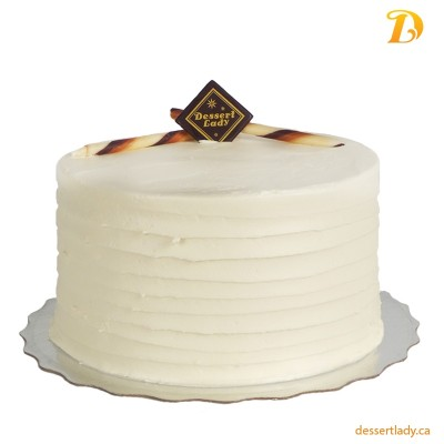 Gluten Free Vanilla cake with Vanilla Custard Filling and Vanilla Buttercream Icing