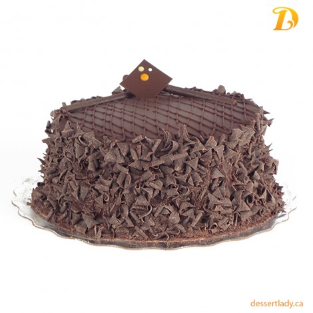 Gluten-Free Chocolate Cake w/ Chocolate Icing