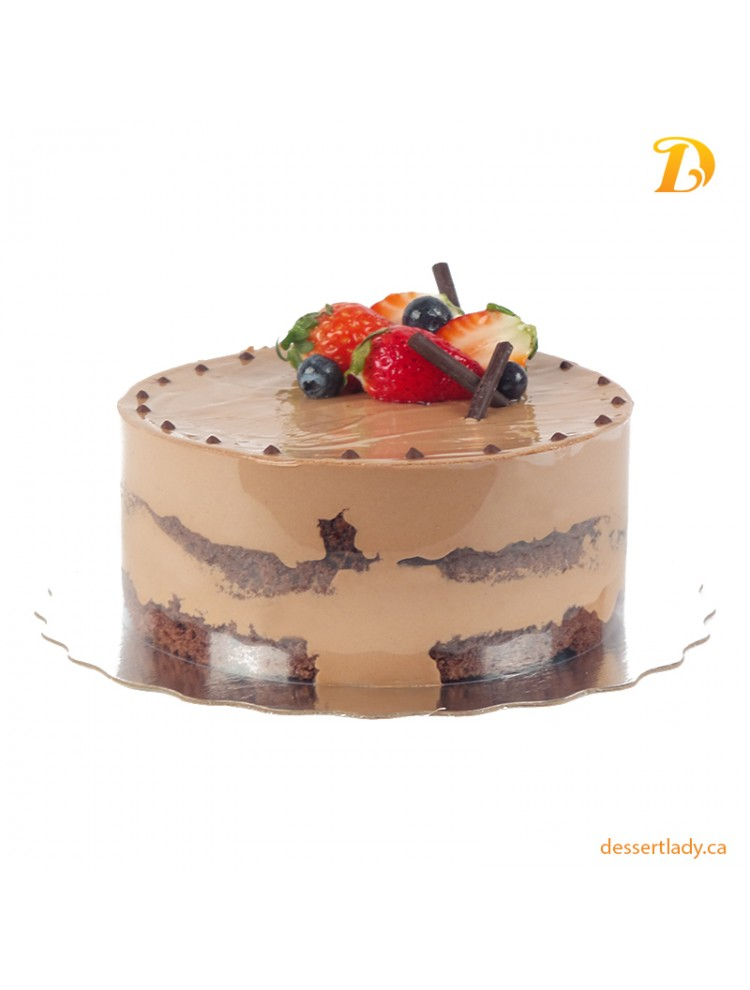Belgian Chocolate Mousse Cake
