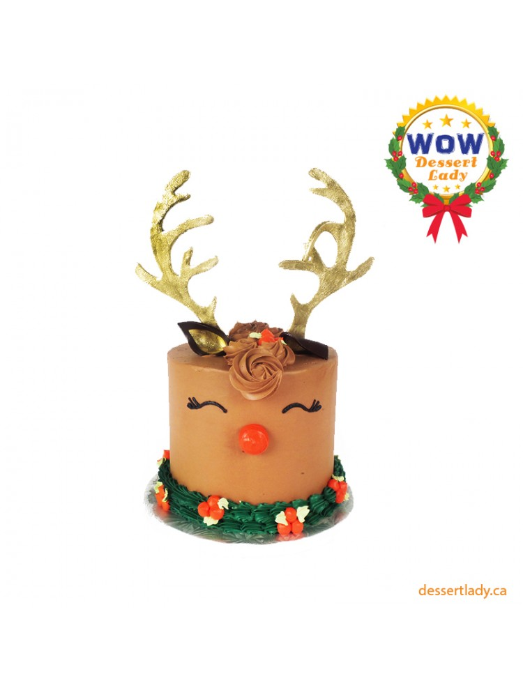 Festive Holiday Wow Cake – Rudolph Darling