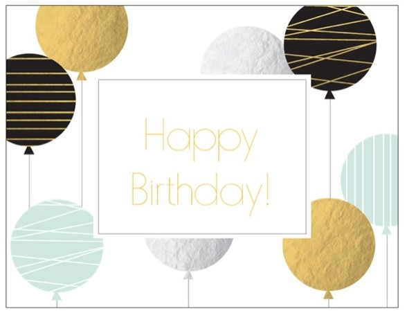 Happy Birthday - Special Occasion Card