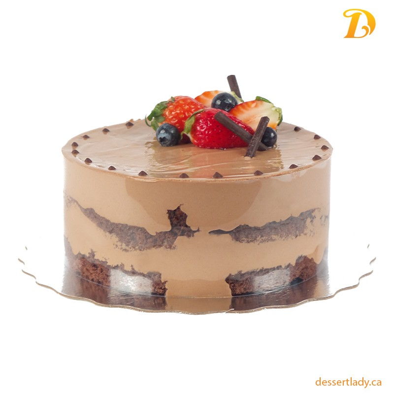 "8"" Belgian Chocolate Mousse Cake"