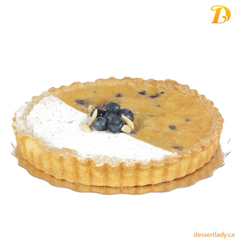 Blueberry Frangipane (Almond Cream) Tart
