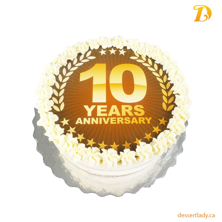 Corporate Logo Cake Round