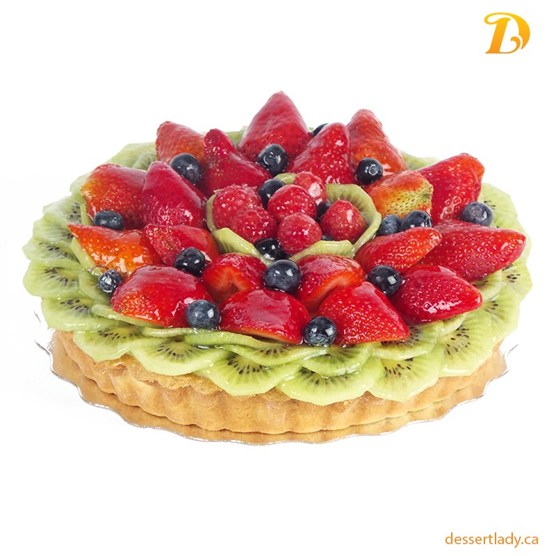 Fresh Fruit Custard Tart