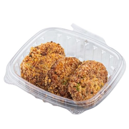 Tofu Edamame Nuggets w/ Vegan Katsu Sauce (Vegan)